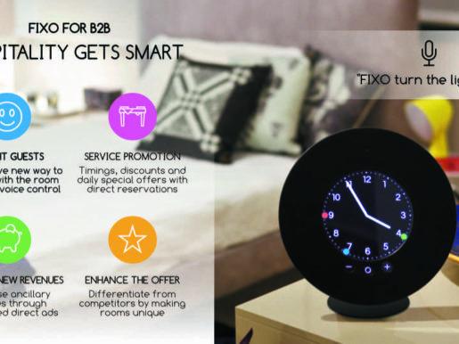 FIXO Smart Room for Hospitality